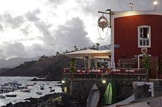 Puerto del Carmenin satamassa on monia tunnelmallisia ravintoloita. #Puertodelcarmen #Lanzarote