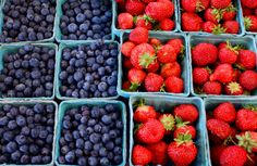 Blueberries & Strawberries