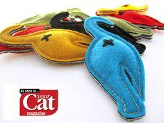 NipintheButt Cat Butt Handmade Catnip Toy by 2forksdesign on Etsy, $6.50