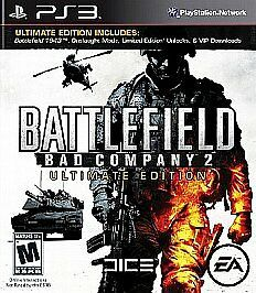 Battlefield Bad Company 2 Ultimate Edition Ps3 New Playstation 3