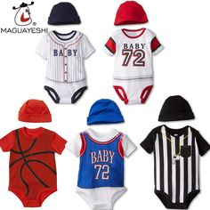 2016 Summer Baby Bodysuit Sports Style Newborn Baby Clothes Football Print Short Sleeve Baby Boy Bodysuit roupas infantis menino $20.97 http://itty-bitty-kids.myshopify.com/products/2016-summer-baby-bodysuit-sports-style-newborn-baby-clothes-football-print-short-sleeve-baby-boy-bodysuit-roupas-infantis-menino?utm_campaign=outfy_sm_1486822073_972&utm_medium=socialmedia_post&utm_source=pinterest