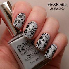 Nail art with Cici&Sisi nail stamping plates