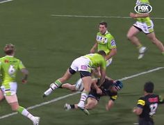 Jack Wighton knocked outJamie Soward with a vicious hit throughout Monday's Penrith Panthers – Canberra Raiders NRL match.Soward was knocked unconsciousand needed to be stretchered off the subject in a neckbrace. Wighton acquired a one-week ban for the hit which many arguewas ut...