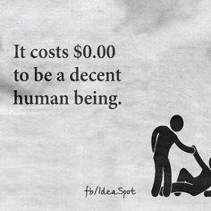 #cost #decent #human