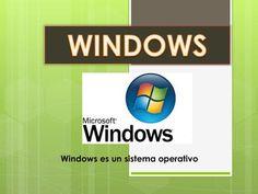 Windows es un sistema operativo> Microsoft Windows, Tech Logos, School, Operating System, File Organization, English Literature, Social Science