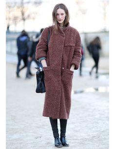 Models Off Duty: PFW AW14 Street Style   ELLE UK