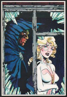 Cloak  Dagger Portfolio (1984) - Art by Rick Leonardi and Terry Austin