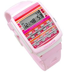 My new Casio Calculator watch. Making all my co-workers jealous.
