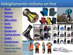 Storeforcycling si vende all'ingrosso abbigliamento e accessori per il ciclismo, il core business è solo abbigliamento, il sito vende e ciclismo occhiali da sole, scarpe, e tutto intorno il ciclismo lo sport.http://www.storeforcycling.com/