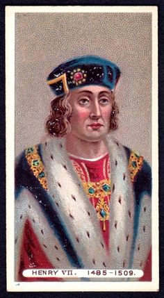No.6 KING HENRY VII 1485 Kings /& Queens of England by Godfrey Phillips 1925