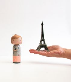 Paris Kokeshi Doll - Sketchinc