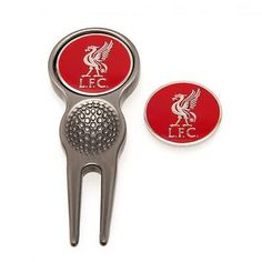 #Liverpool fc #official divot tool and golf ball #marker ,  View more on the LINK: http://www.zeppy.io/product/gb/2/282170113536/