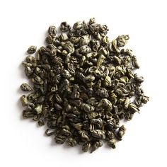 Le Palais des Thés Gunpowder Green Tea | This tea rolled into little pearls is used to prepare traditional Moroccan mint tea. Intense and astringent, fresh and thirst quenching.