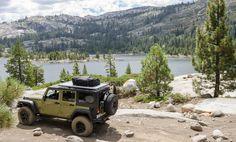 AEV Jeep Wrangler Rubicon, ready for adventure.
