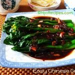 Easy Chinese Vegetables (Gai Lan)