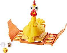 Mattel  La Gallina Josefina (FRL14) Ver Chollo http://amzn.to/2CiCWrr   Es un juego desternillante para niños a partir de cuatro años Si la gallina no pone ningún huevo el turno pasa al siguiente jugador Sin embargo si el gallinero se abre la gallina pondrá un huevo que tendrás que romper Si cae con el lado del huevo hacia arriba no tienes suerte y el turno pasa al siguiente jugador Si cae con el lado del pollito hacia arriba ganas una ficha con un pollito  Ver más detalles  The post Mattel…