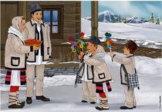 Christmas Activities, Christmas Traditions, Anul Nou, Ronald Mcdonald, Christmas Cards, Popular, Traditional, Winter, Kids