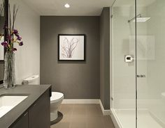 Dark grey, large shower