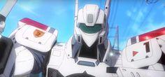 Anuncio para el Blu-ray y DVD del Anime Mobile Police Patlabor Reboot.