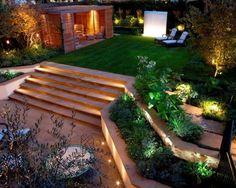 quintal iluminado