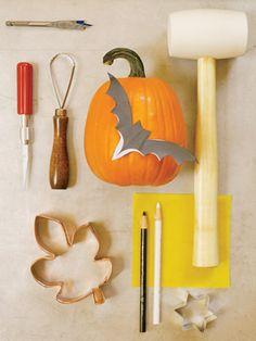 Tools for Pumpkin Carving #halloween #pumpkin #craft