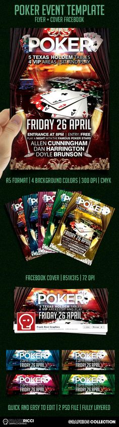 New Poker Events template available on http://frankricci.it/poker-event-01/