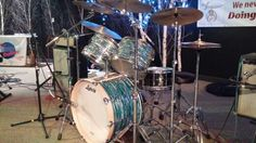 My early Ludwigs.you can't beat that finish or the sound I get out of these gems! Ludwig Drums, Drummers, Music Instruments, Gems, Musical Instruments, Gem, Gemstones, Emerald