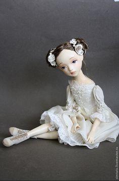 Beautiful Russian doll by Tatiana Simukova.