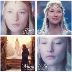 The mystery and power of Lady Galadriel.