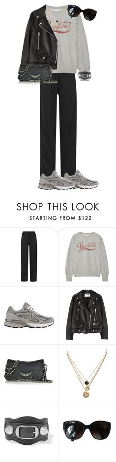 """""""Untitled #216"""" by frederikkematilder on Polyvore featuring Chloé, Étoile Isabel Marant, New Balance, Acne Studios, Zadig & Voltaire, LowLuv, Balenciaga and Chanel"""