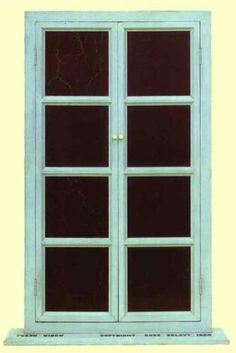 Fresh Widow - Marcel Duchamp