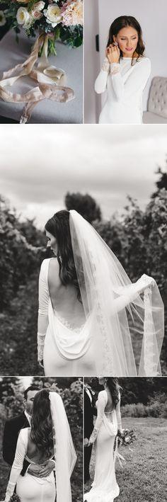 Glamorous + Classic Vineyard Wedding