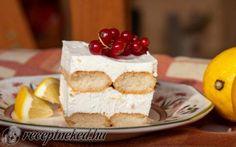 Citromos álom recept Receptneked konyhájából - Receptneked.hu Izu, Tapas, Hamburger, Cheesecake, Food, Mascarpone, Cheesecakes, Essen, Burgers