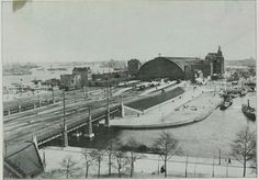 Amsterdam, Centraal station 1901