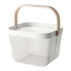 RISATORP Basket, white