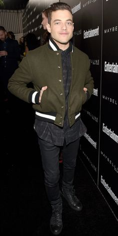 It's Official: Mr. Robot's Rami Malek Is Our Fashion Man Crush - At an Entertainment Weekly Party Honoring the 2016 SAG Nominees from InStyle.com