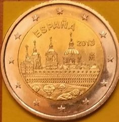 SPAIN Feature: Monastery of San Lorenzo de El Escorial – UNESCO World Heritage series Issuing volume: 8 million coins Issuing date: February 2013