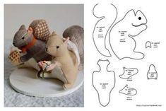 Felt Templates Bird Patterns Sewing Patterns Bird Ornaments Felt Birds Sewing For Beginners Doll Crafts Diy Toys Felt Animals Sewing Art, Sewing Toys, Sewing Crafts, Sewing Projects, Animal Sewing Patterns, Felt Patterns, Sewing Stuffed Animals, Stuffed Animal Patterns, Diy Y Manualidades