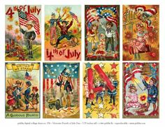 pretty 4th of july | 576. Fourth of July postcards