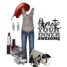 Liberate Your Inner Awesome, created by suestark.polyvore.com