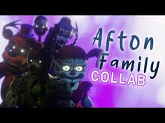 """FNaF - """"Afton Family REMIX/COVER"""" (APAngryPiggy, KryFuZe) COLLAB   Animated by Mautzi and Friends - YouTube Fnaf Song, Friends Youtube, People Leave, Five Nights At Freddy's, The Creator, Animation, Songs, Cover, Board"""