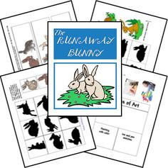 The Runaway Bunny Lapbook  - pinned by @PediaStaff – Please Visit ht.ly/63sNtfor all our pediatric therapy pins