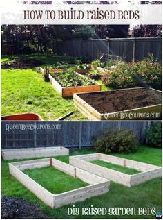 How to Build Raised Garden Bed Easily-20 DIY Raised Garden Bed Ideas Instructions