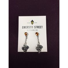 OSU earrings-Emerson