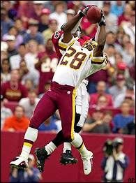 The best player to put on a Redskin jersey.