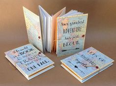 Adventure Book  Gift for Traveler  Travel Journal with