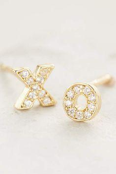 xo post earrings