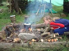 Forest Kitchen Forest School Wales