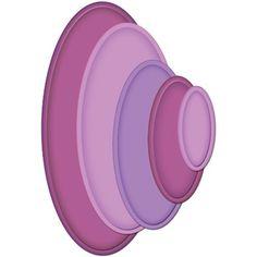 Spellbinders Nestabilities Mega Ovals Large  s5-023