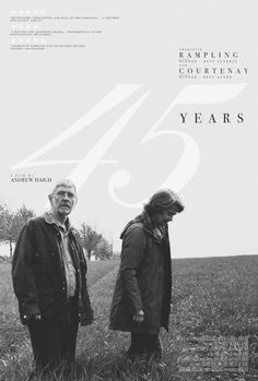 """Andrew Haigh's """"45 Years"""" Poster by MM"""